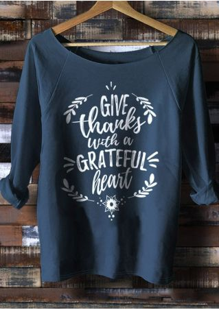 Give Thanks With A Grateful Heart Sweatshirt
