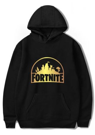 Fortnite Pocket Long Sleeve Hoodie