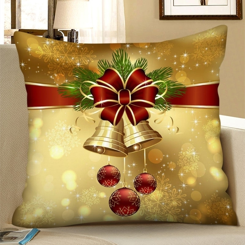 Image of Christmas Ball Bell Pillowcase
