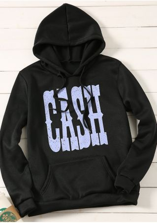 Cash Pocket Long Sleeve Hoodie