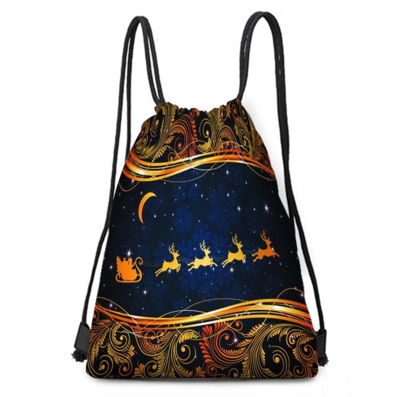 Image of Christmas Candy Gift Storage Bag