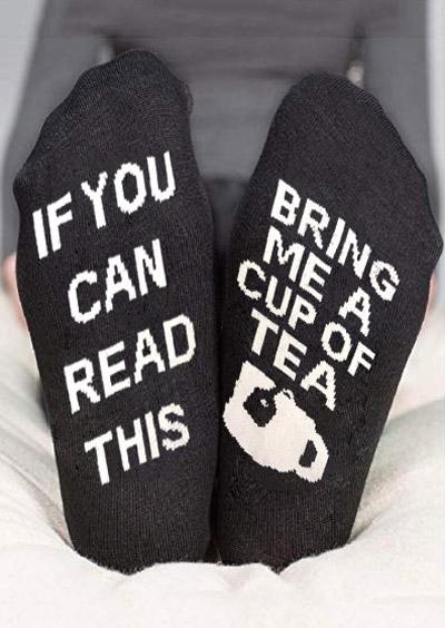 c43d4ae6e890 PLEASE BRING ME WINE Socks - Fairyseason