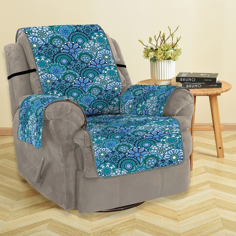 Image of Bohemian Printed Sofa Cover