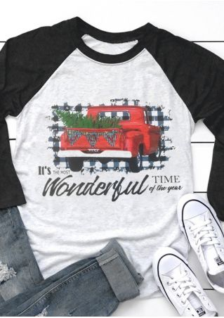 The Most Wonderful Time Of The Year Baseball T-Shirt Tee