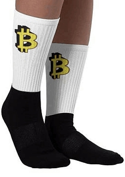 Image of Bitcoin Splicing Casual Socks
