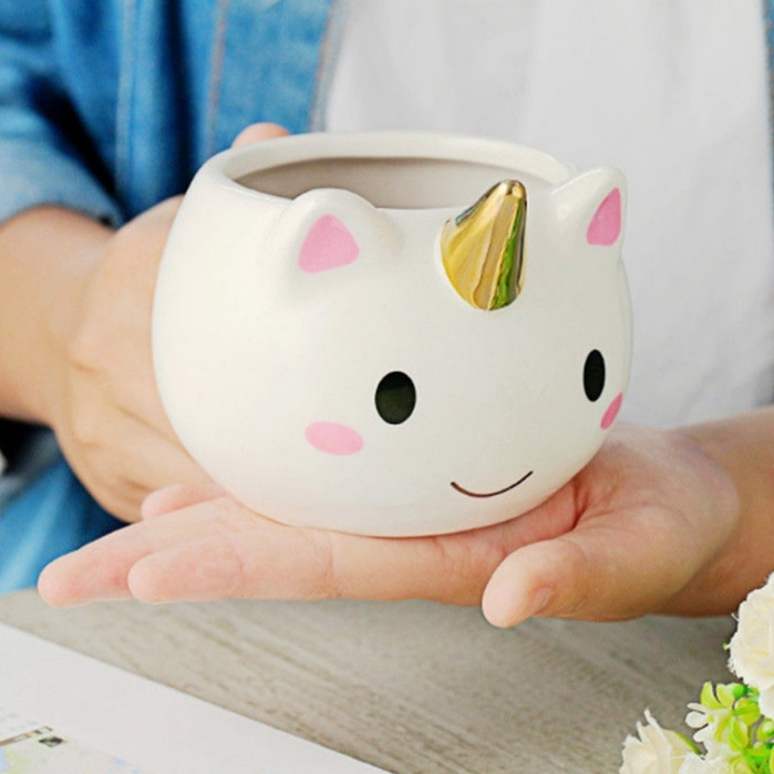 Image of Ceramic Unicorn Mug Cup