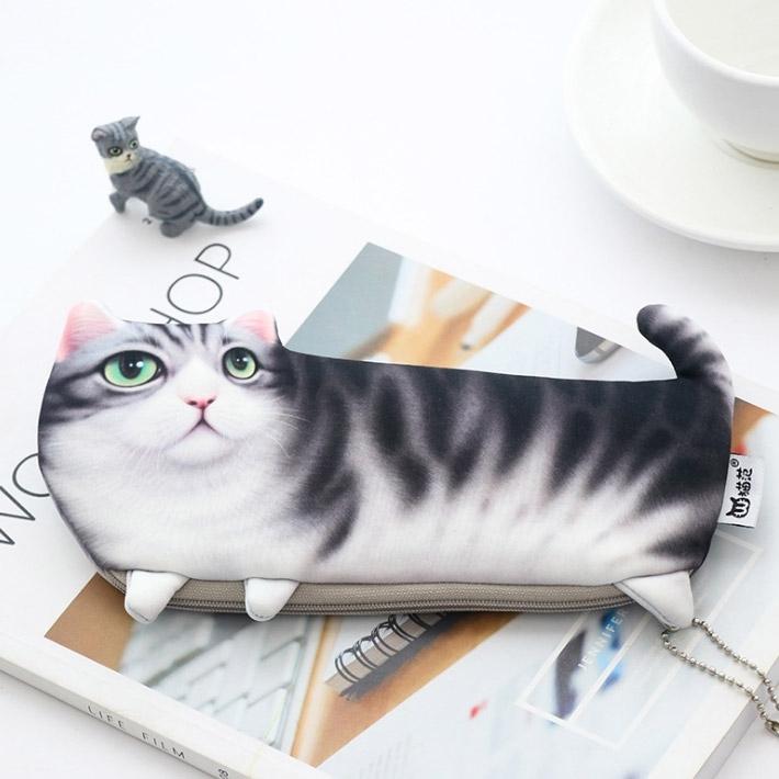 Cute Cat Pen Storage Bag