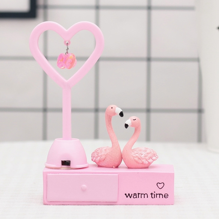 Image of Valentine Gift Love Flamingo Gift