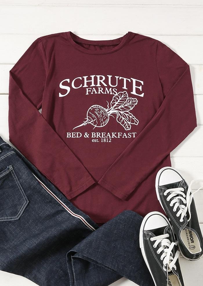 Schrute Farms Bed & Breakfast T-Shirt Tee