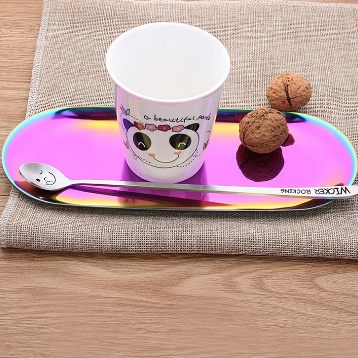 Image of Cup Spoon Dish Plate Holder Kitchen Tool Gadget