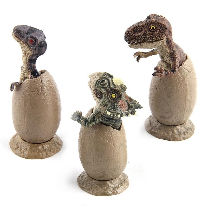 Image of 3Pcs/Set Dinosaur Egg Model Hatching Educational Toy