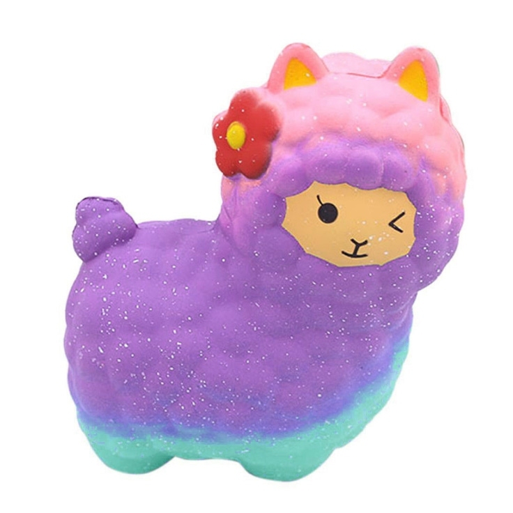Image of Alpaca Stress-Relief Slow Rising Squishy Toy