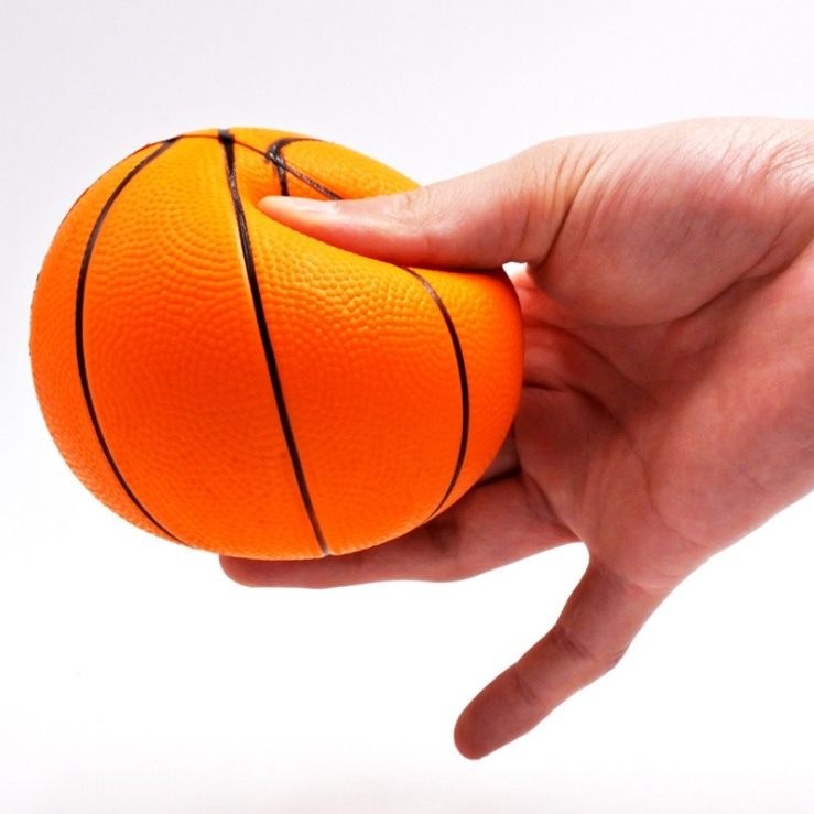 Image of Basketball Stress-Relief Slow Rising Squishy Toy