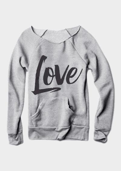 Love Solid Casual Sweatshirt