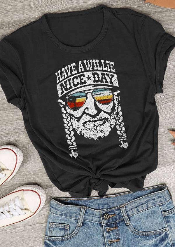 bb80e79af Have a Willie Nice Day T-Shirt - Fairyseason