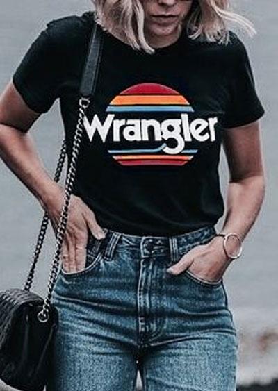 Wrangler Sunset Short Sleeve T-Shirt фото