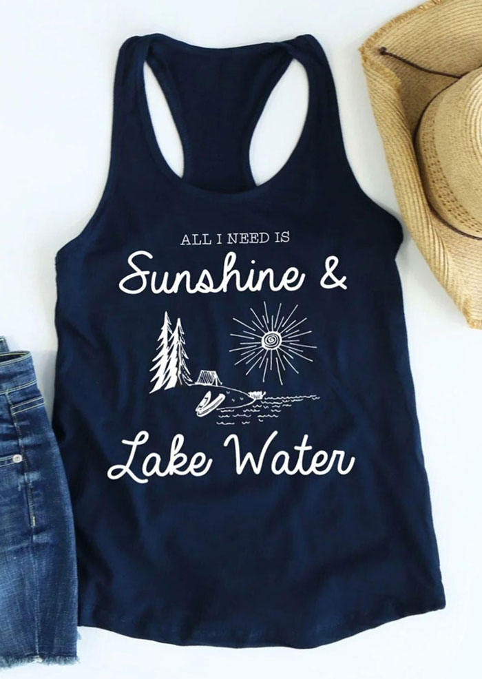 All I Need Is Sunshine & Lake Water Tank фото