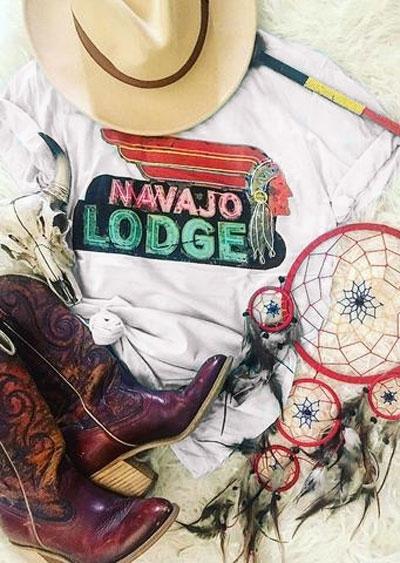 Navajo Lodge Short Sleeve T-Shirt