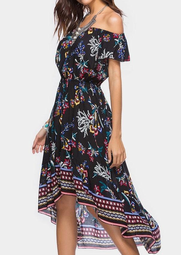 Women\'s Maxi Dresses   Petite,Plus Size,Casual,Floral   Fairyseason