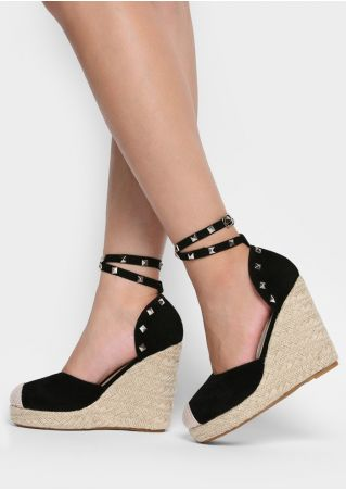 Splicing Rivet Cross Buckle Wedges