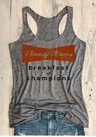 Bloody Marys Breakfast Of Champions Racerback Tank