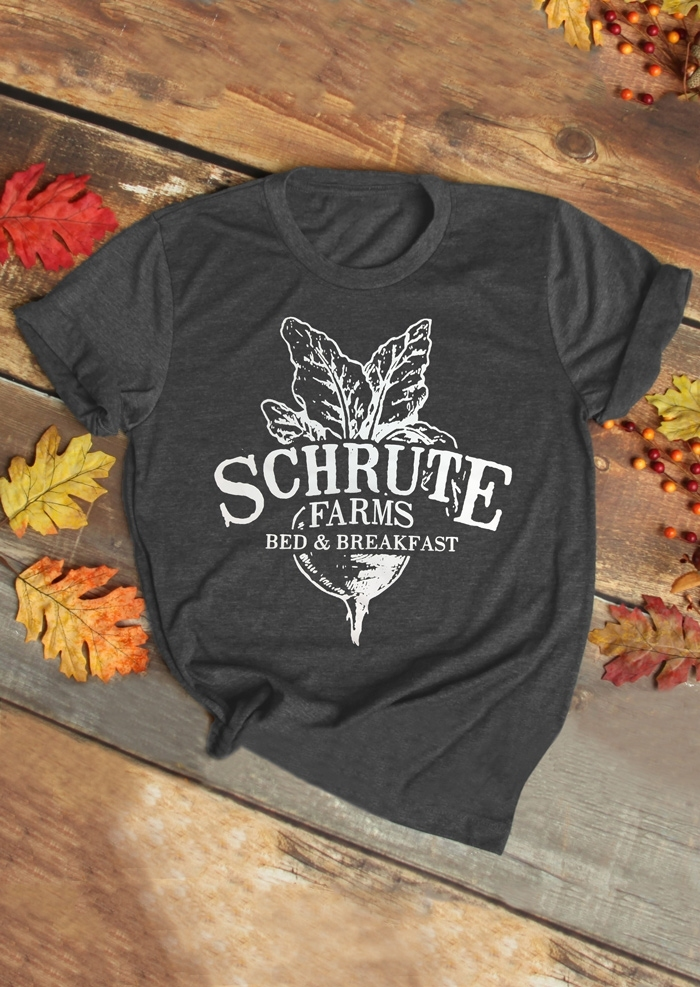 22e47ac1b Schrute Farms Bed & Breakfast T-Shirt Tee - Fairyseason