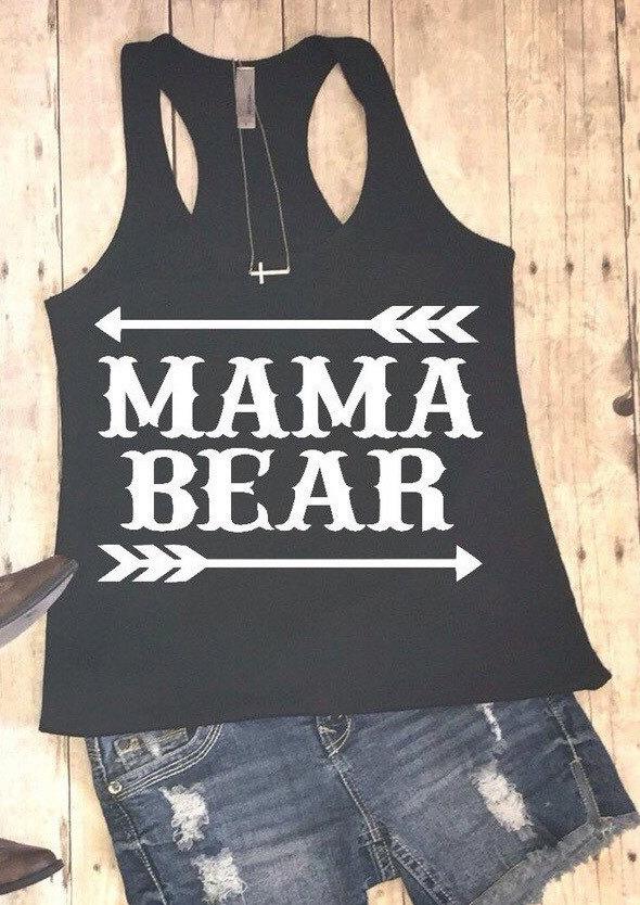 Mama Bear Arrow Tank