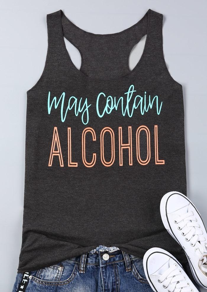 May Contain Alcohol Tank фото