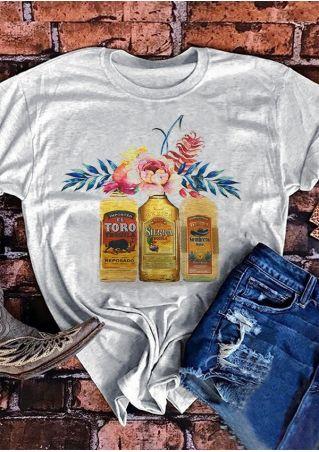 Toro Tequila Mexico Sierra Tequila Sombrero T-Shirt