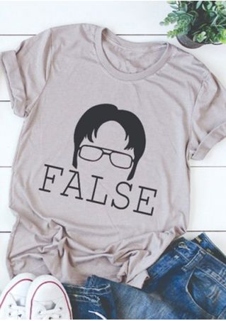 The Office Dwight Schrute False T-Shirt Tee