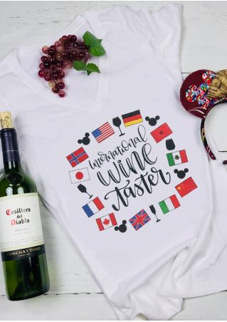 International Wine Taster T-Shirt Tee
