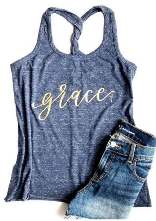 Grace Twist O-Neck Tank