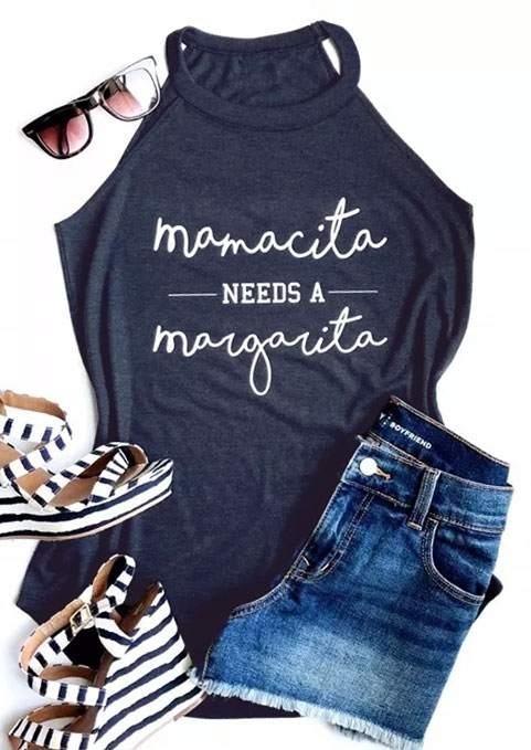 Mamacita Needs A Margarita Tank фото