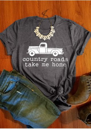 Country Roads Take Me Home T-Shirt Tee