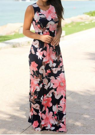 b6f1b9f4b9aa Floral Pocket Sleeveless Maxi Dress. $17.99 $39.09. QUICK VIEW. 70% OFF.  Printed Splicing O-Neck ...