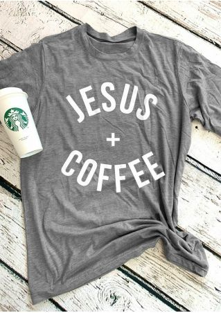 Jesus Coffee Short Sleeve T-Shirt Tee