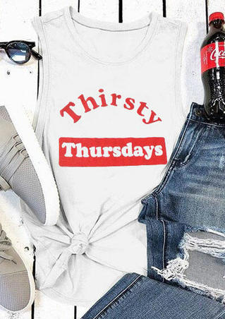 Thirsty Thursdays O-Neck Tank