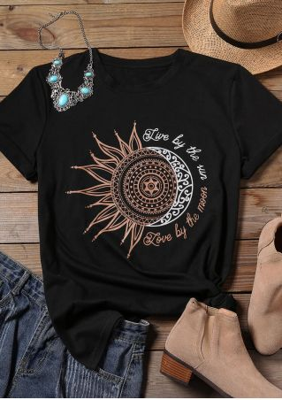 Live By The Sun T-Shirt Tee