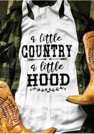 A Little Country A Little Hood Tank