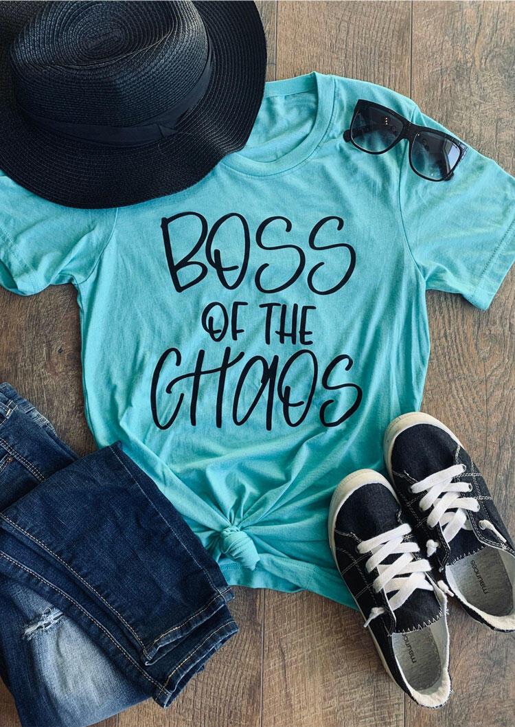 Boss Of The Chaos T-Shirt Tee