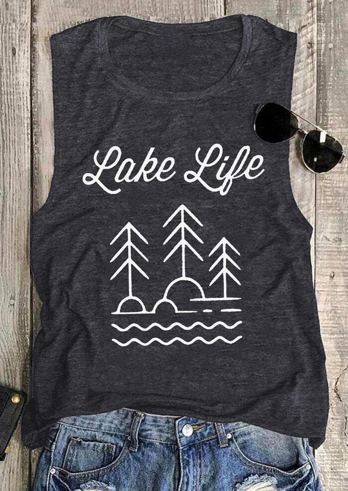 Lake Life O-Neck Tank