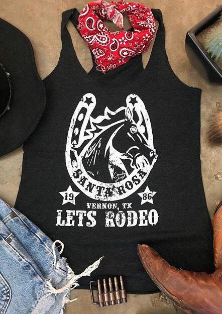 Santa Rosa Lets Rodeo Tank