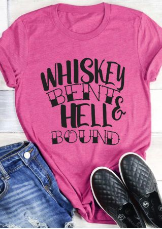 Whiskey Bent & Hell Bound T-Shirt Tee