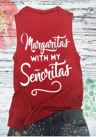 Margaritas With My Senoritas Tank