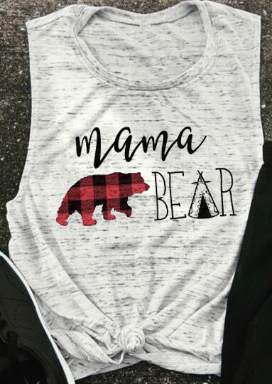 Mama Bear O-Neck Tank