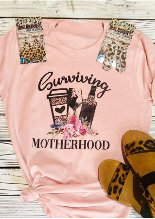 Surviving Motherhood T-Shirt Tee