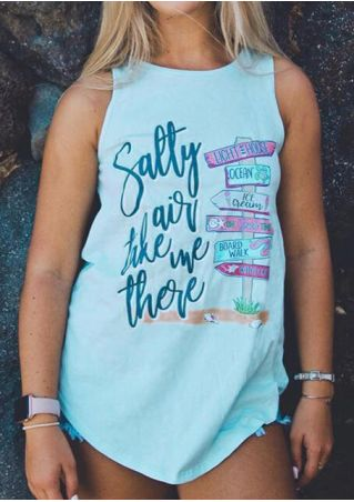 Salty Air Take Me There Tank