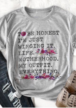 To Be Honest T-Shirt Tee