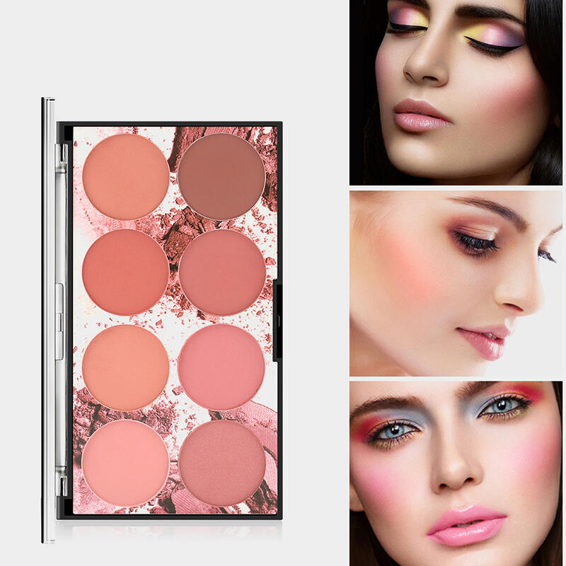 Health & Beauty 8 Color Makeup Blush. Size: One Size