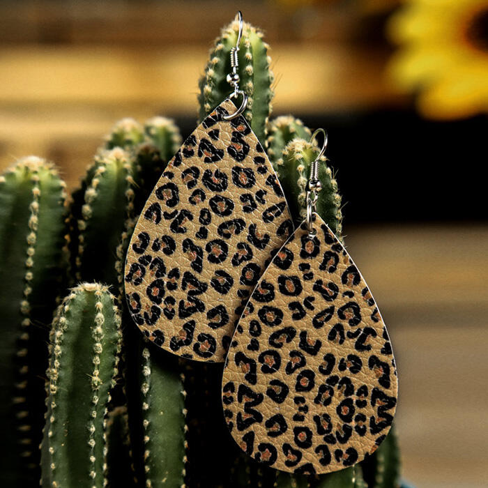 Leopard Pattern Earrings